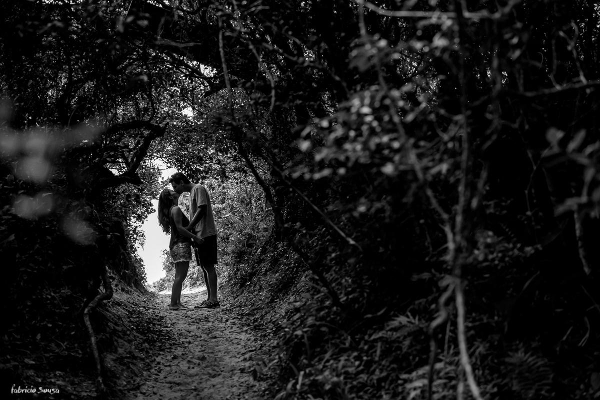 beijo na trilha do pico da cruz rio tavares Florianopolis