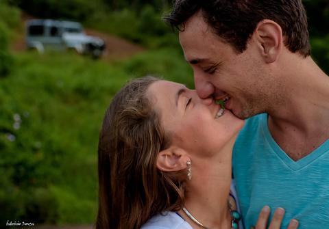 Ensaio de Mariana e Bruno