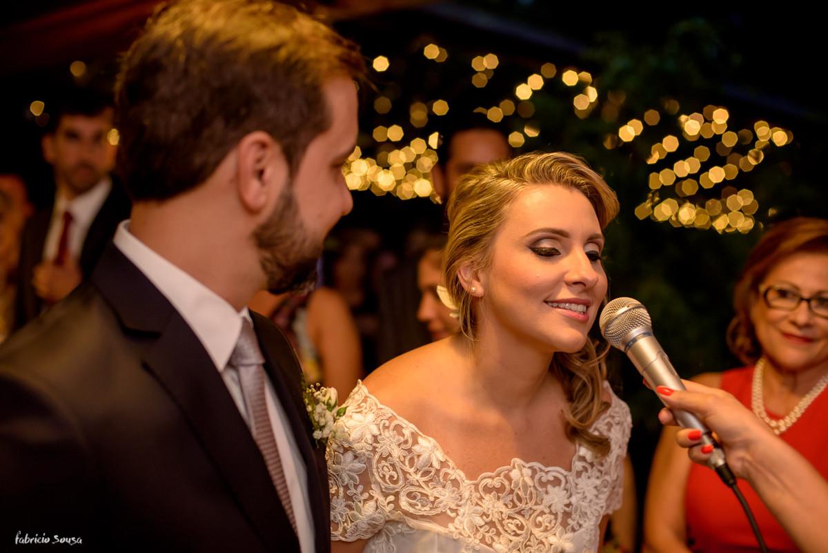 o SIM da noiva na cerimônia do mini-wedding