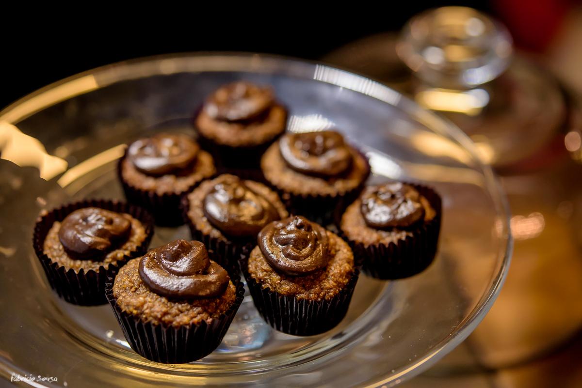 sobremesa bolinho mini muffins após café