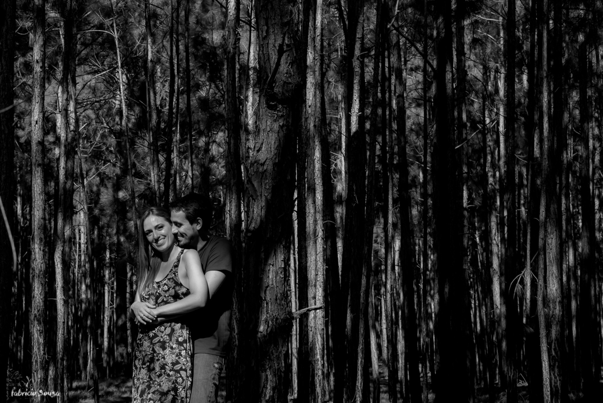 retrato preto e branco pareja casal Floripa