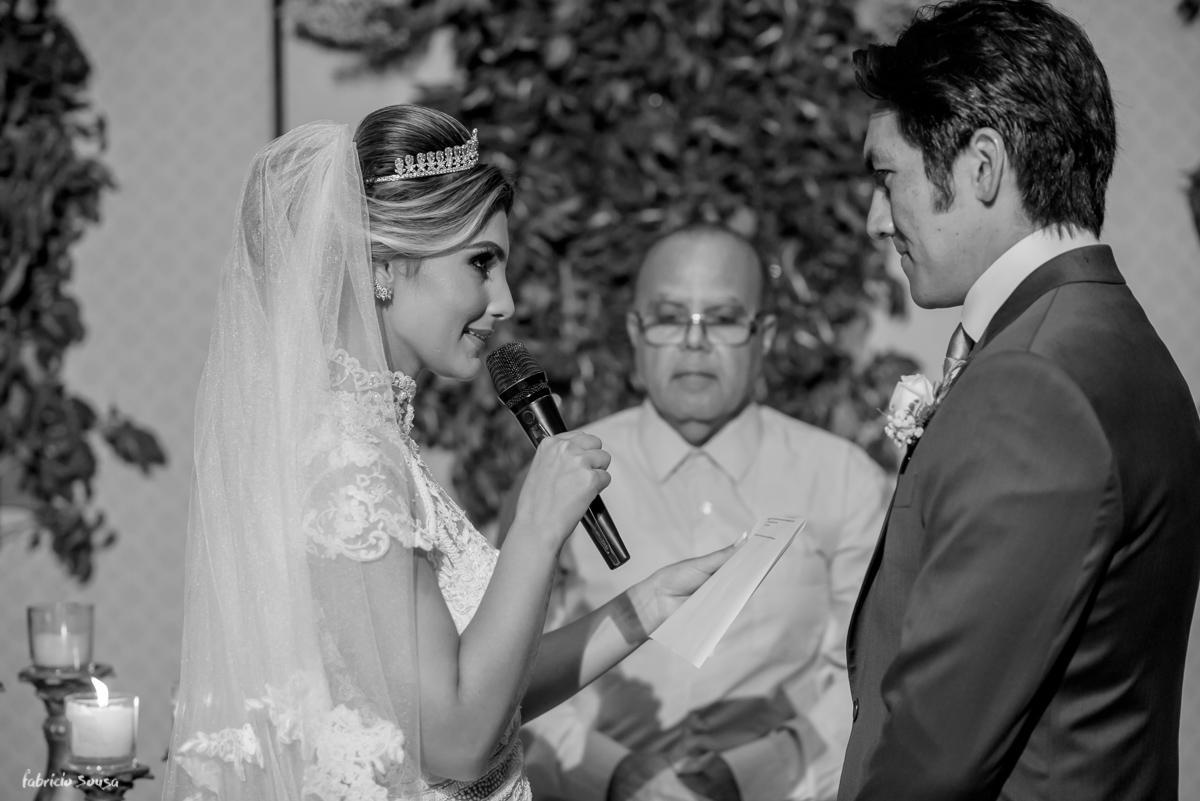 as juras de amor - votos da noiva durante casamento