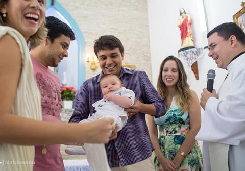 Família de batizado Heitor