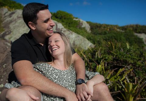 Ensaio de ensaio pre-casamento Marcella e Luiz Renato