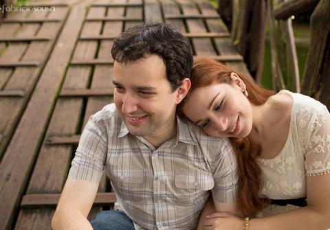 Ensaio de ensaio pré-casamento Betania e Raphael
