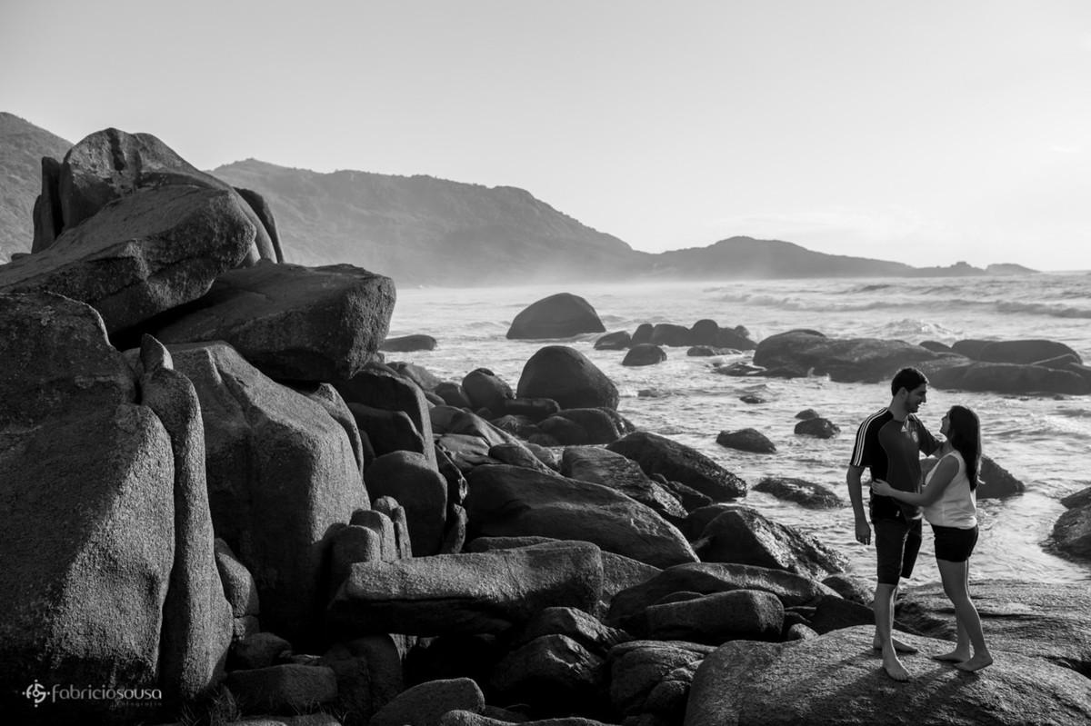 praia de nudismo, a Galheta, além de linda é uma das mais preservadas da Ilha de Santa Catarina