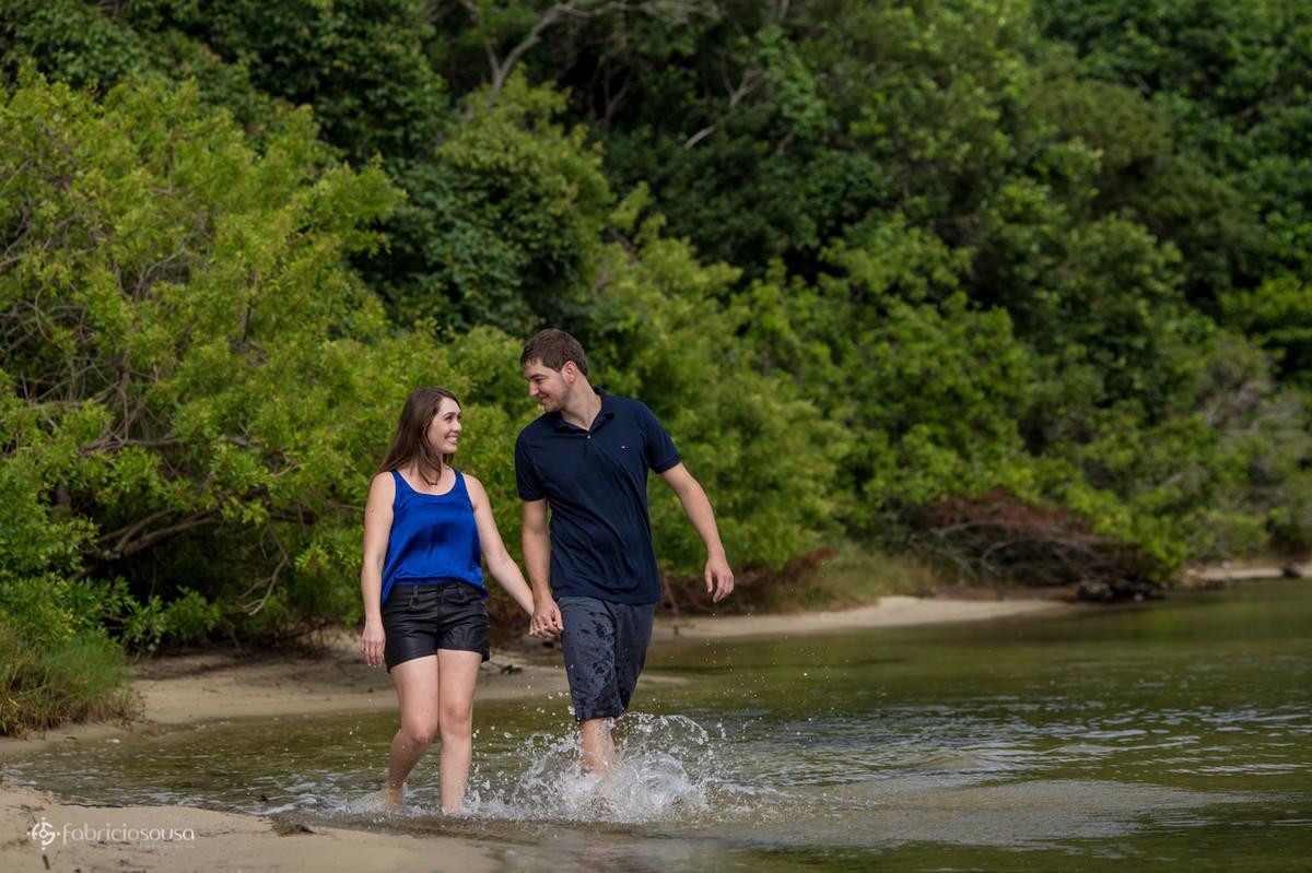 ensaio pre-casamento na Lagoa da Conceição
