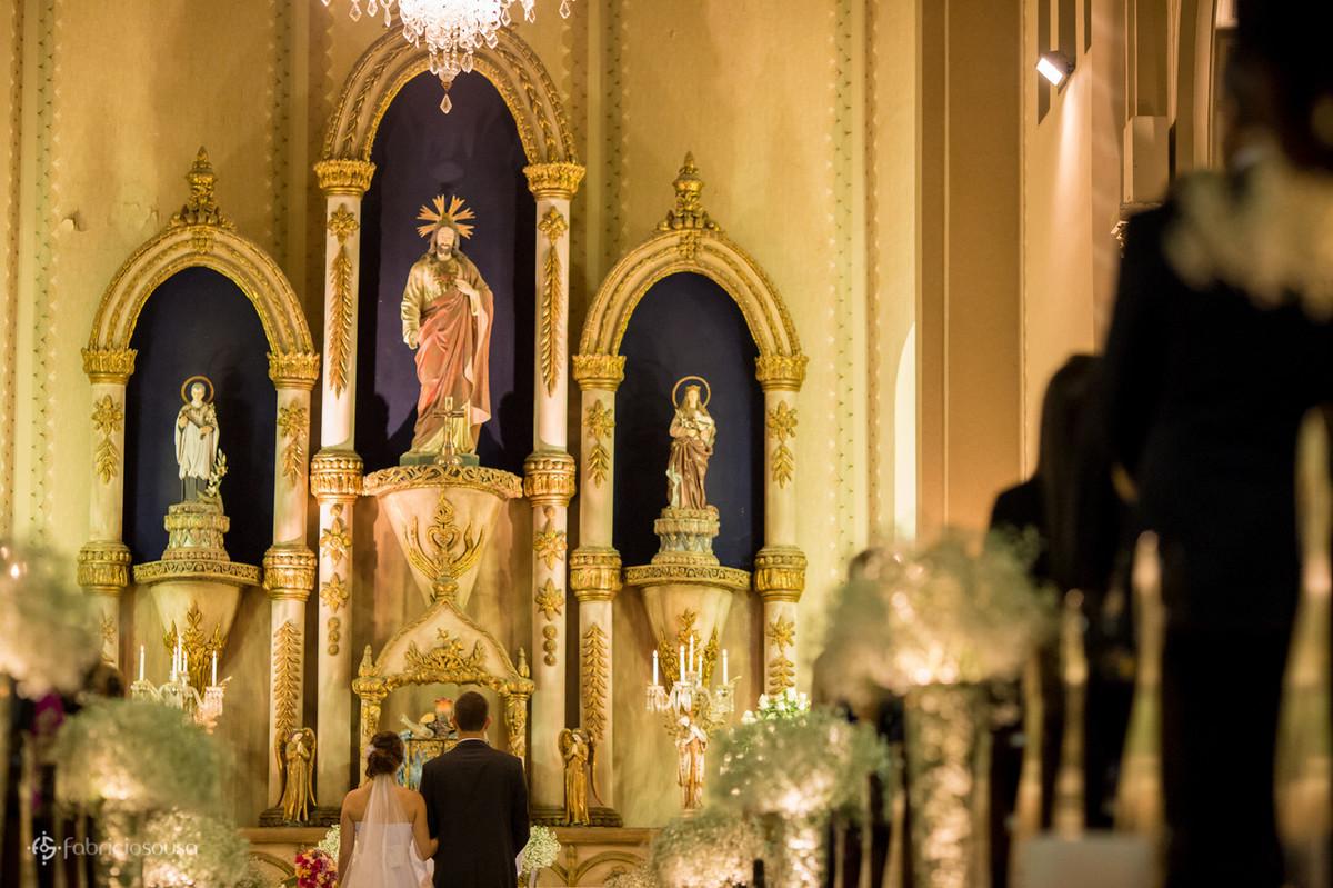 a belíssima capela do coração de jesus