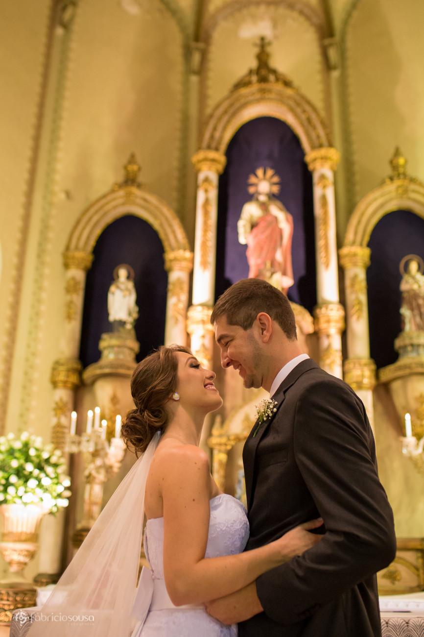 o primeiro beijo de casados