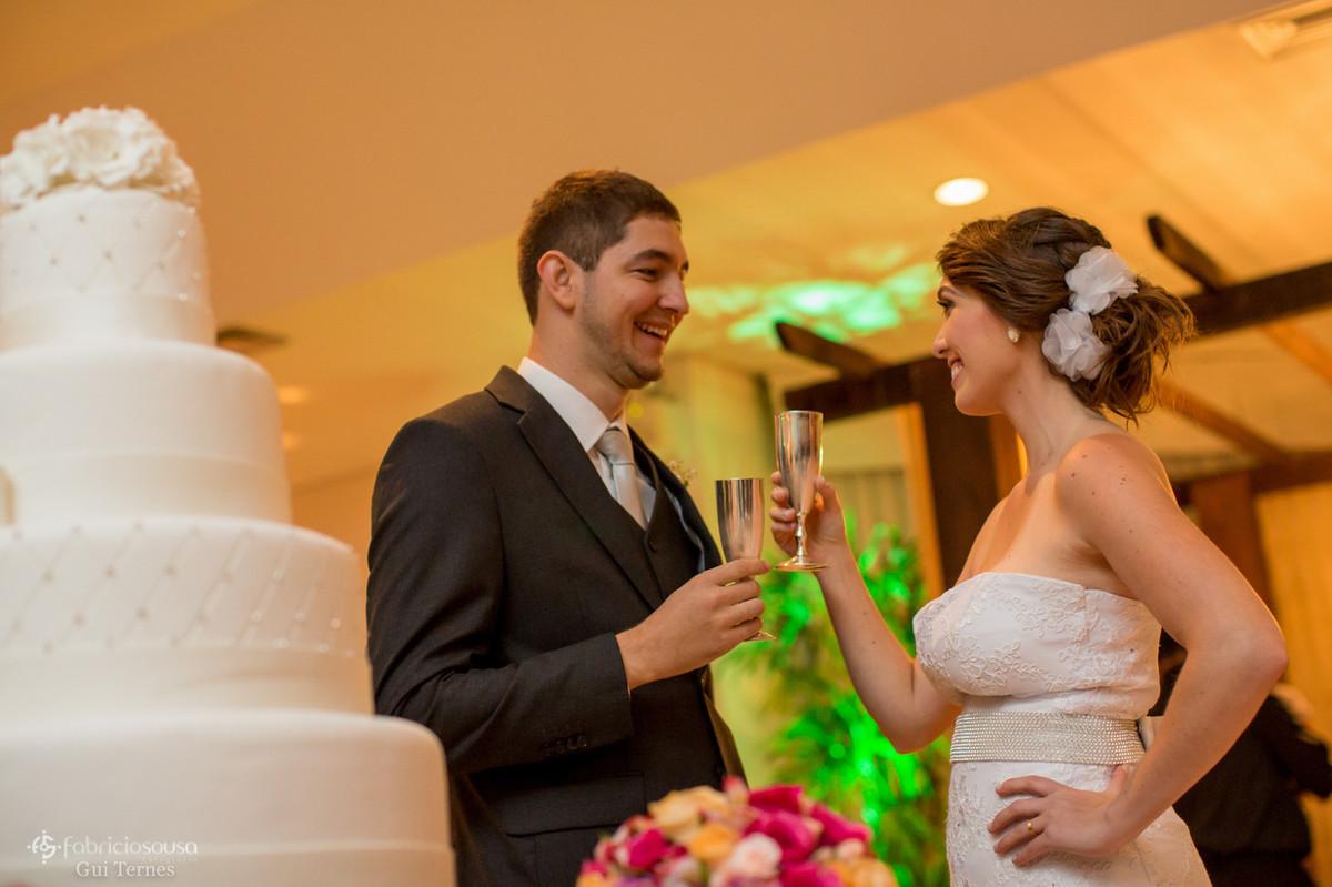 o primeiro brinde de casados
