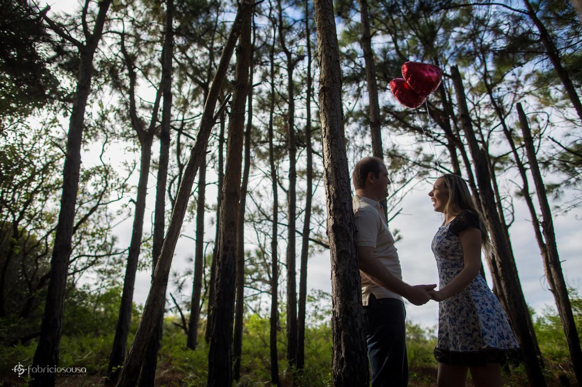 noivos no bosque do moçambique