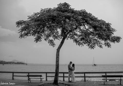 Casamento de casamento Mina e René Spitz em Santo Antônio de Lisboa