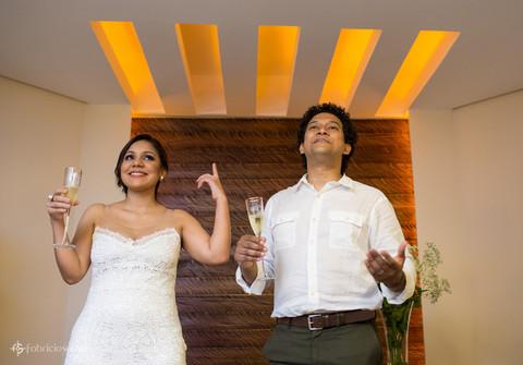 Casamento de casamento Luciana e Rodrigo em casa