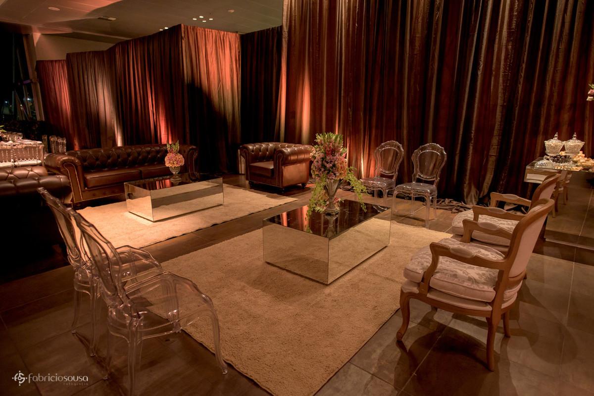 área de lounge