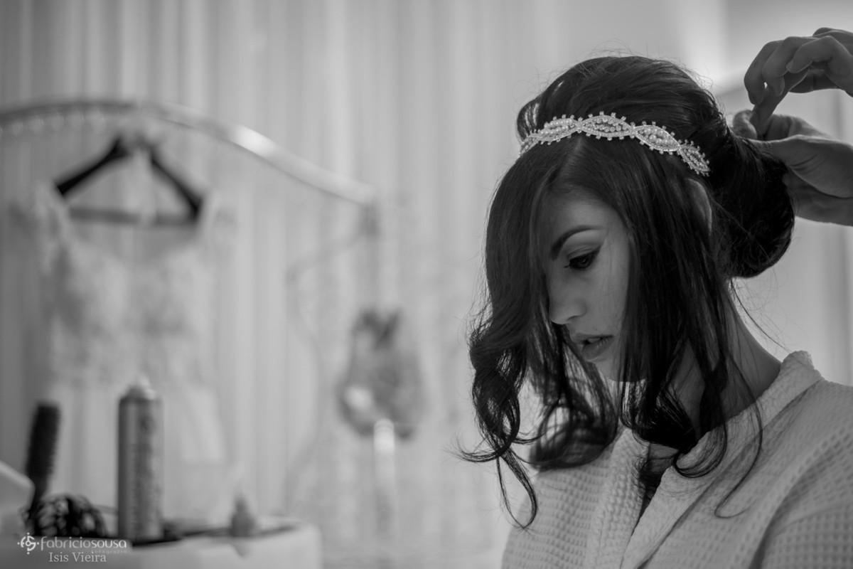 o penteado da noiva