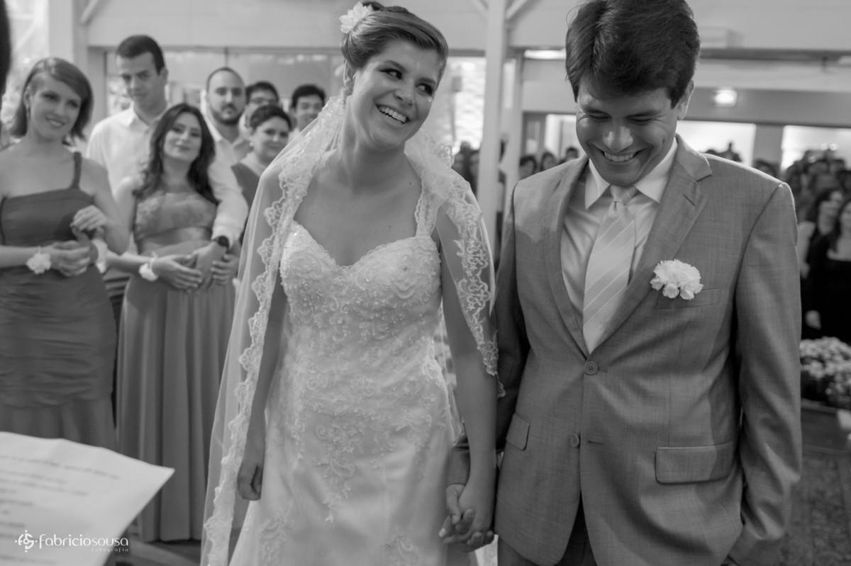 olhar apaixonado da noiva