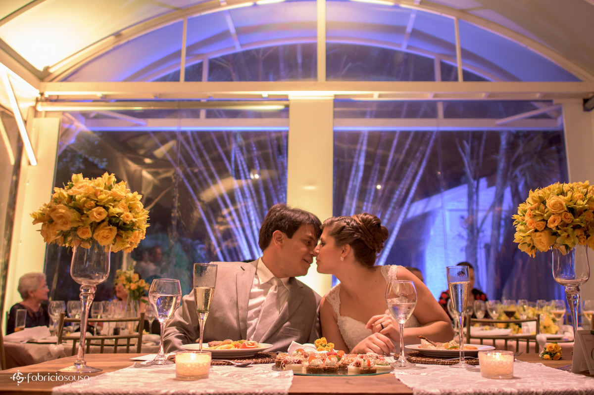 hora do casal jantar