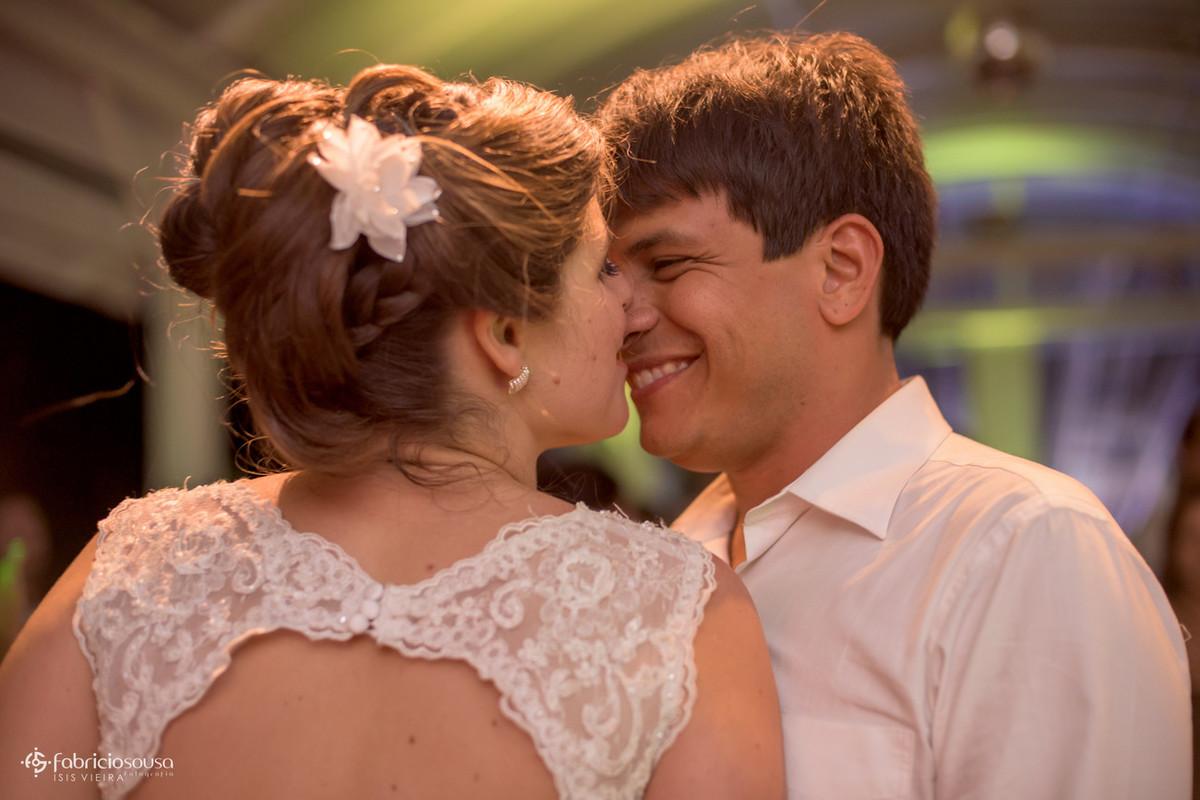 a alegria do noivo Felipe na pista
