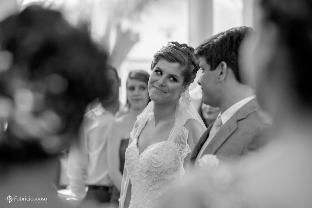 troca de olhares do casal