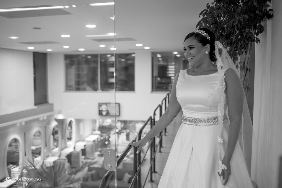 retrato da noiva no salão Cassius no umarizal