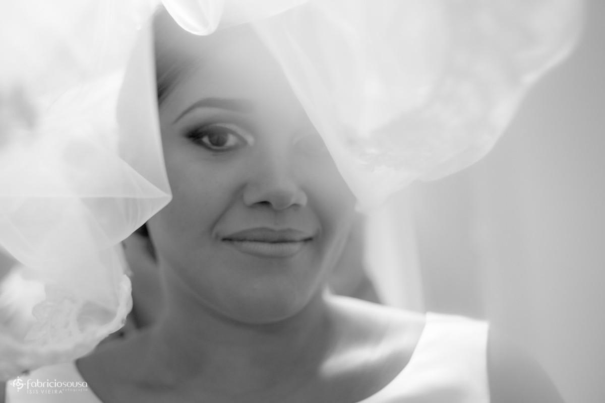 retrato da noiva sob o véu