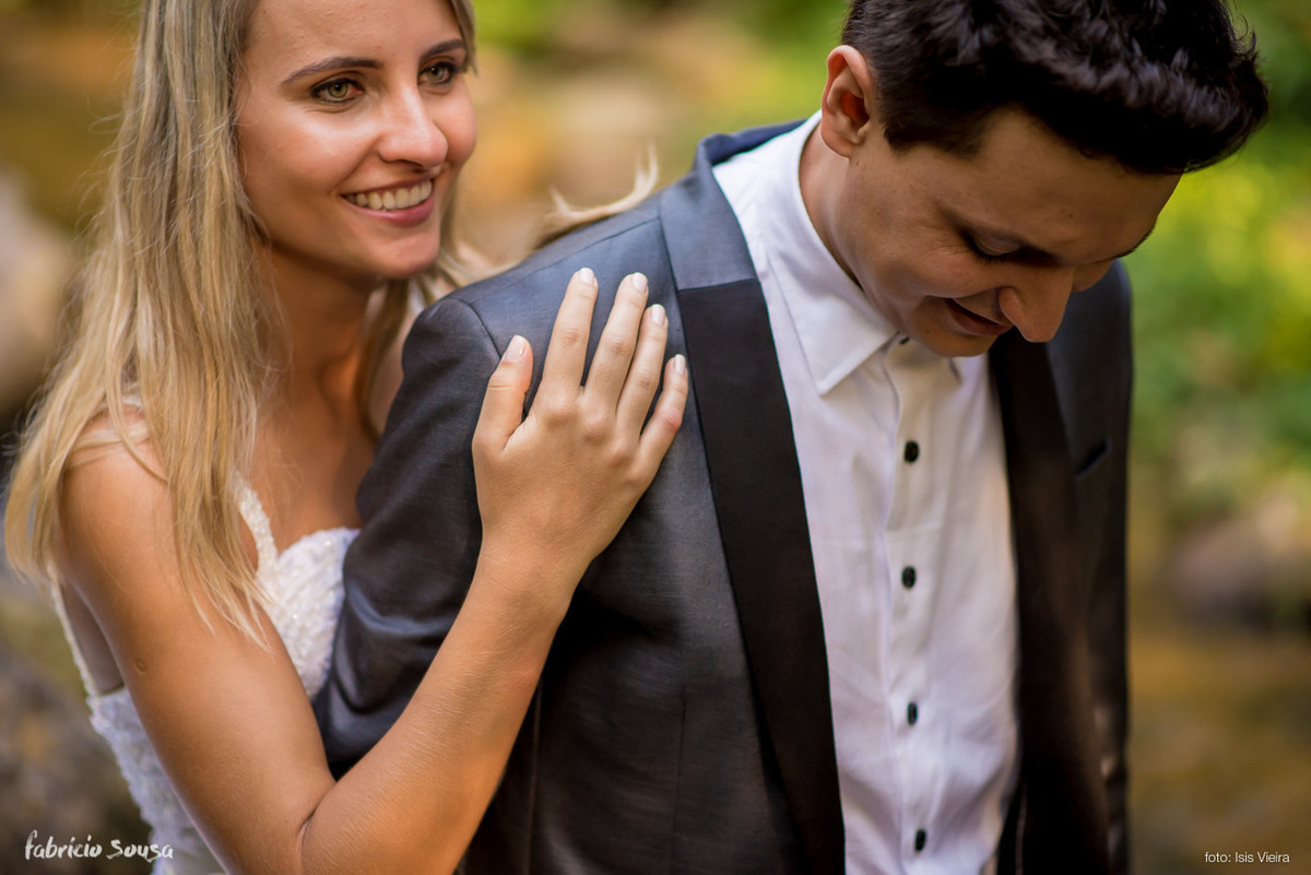 pós-casamento Helen e Jander - São João Batista/SC - trash the dress