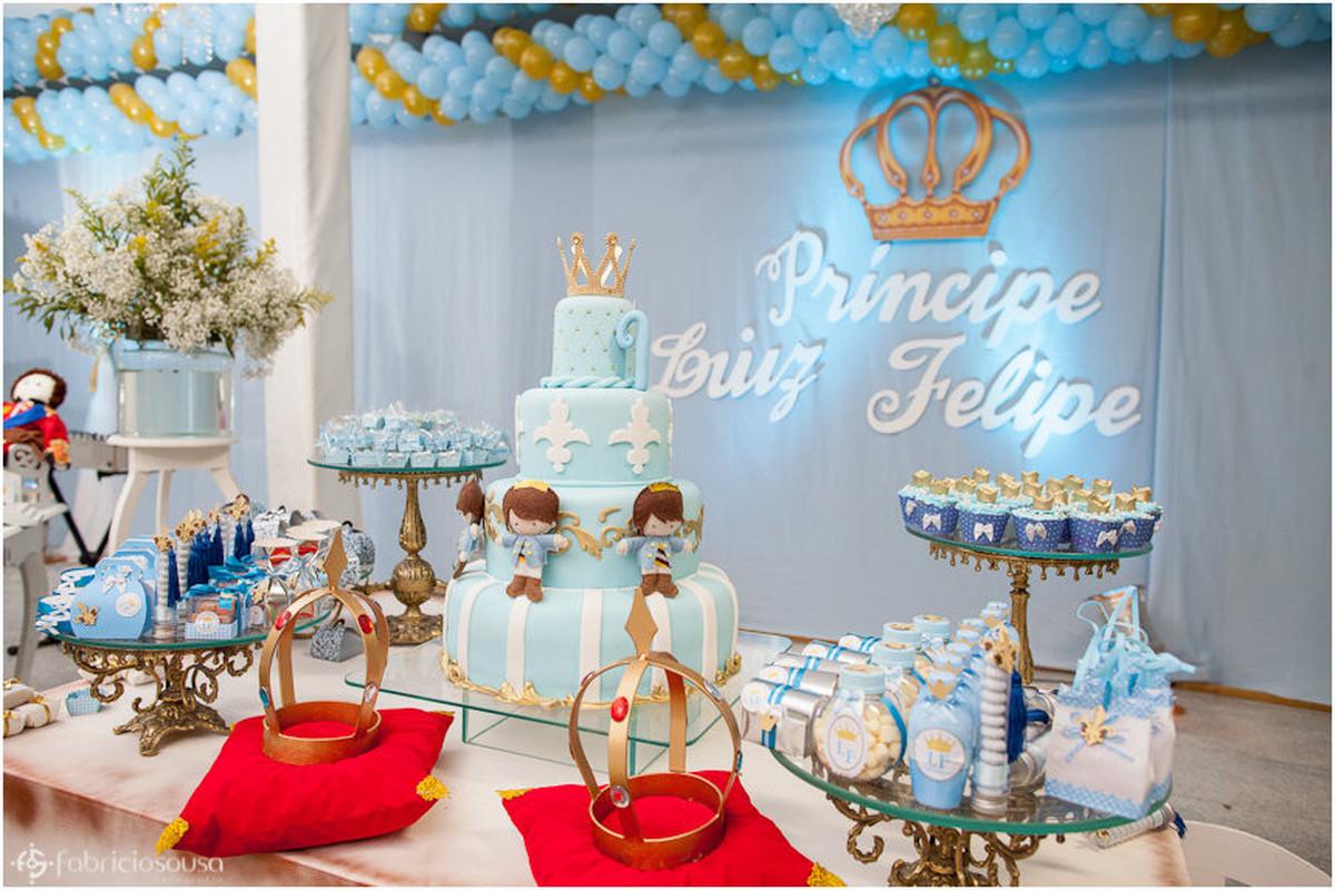 decoração do Aniversário 1 ano Luiz Felipe em Macapá