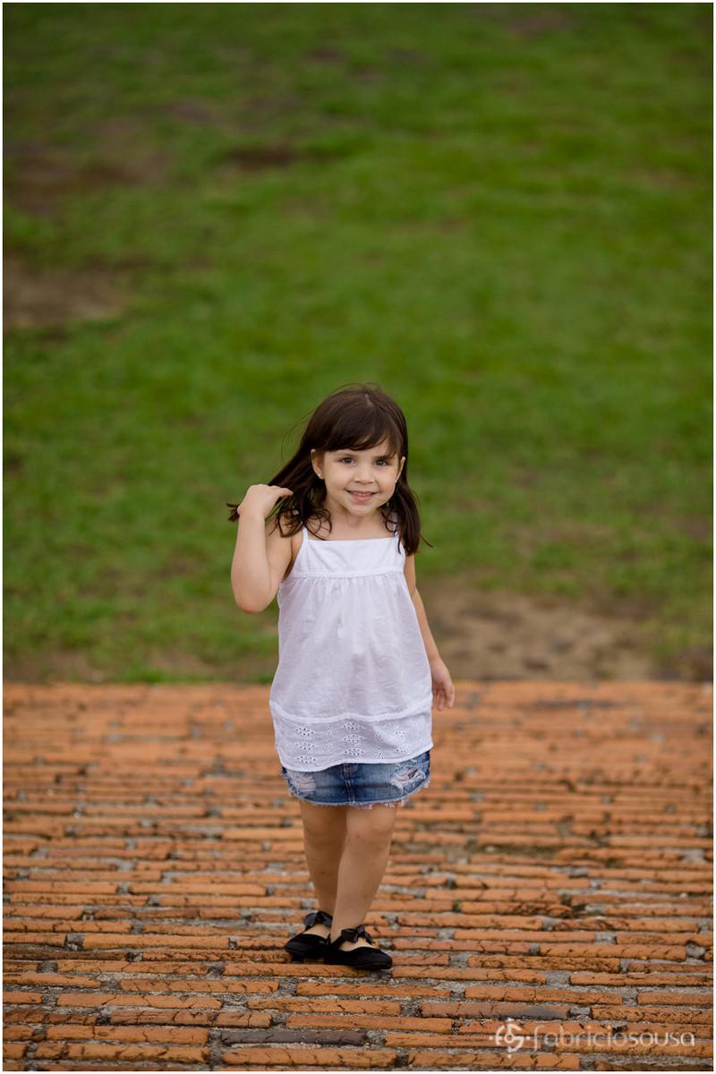 Retrato da menina pequena