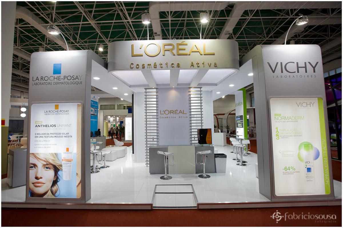 stand da L'oréal cosmética ativa