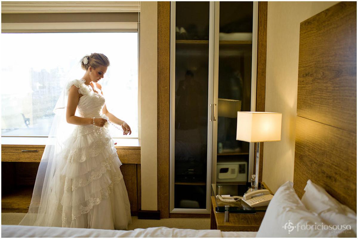retrato da noiva pronta no making of