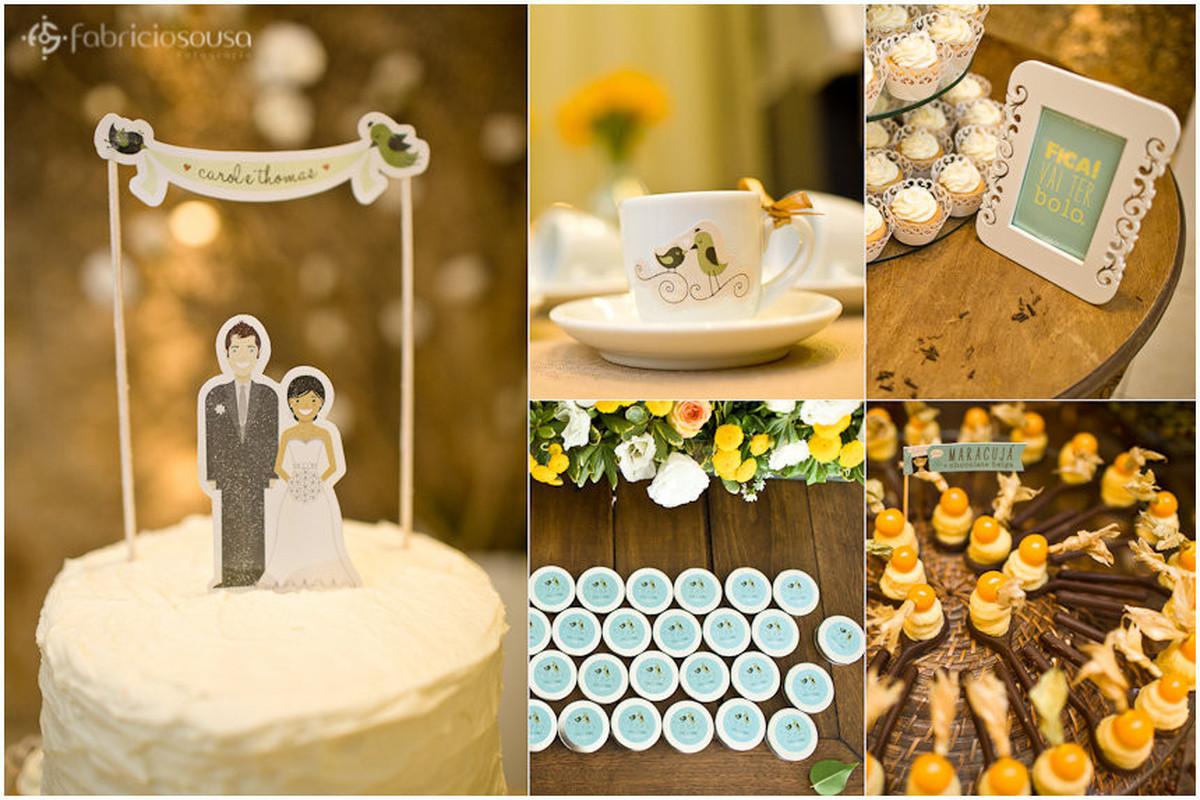detalhe de papelaria e design feito pela noiva designer Carol Rivello