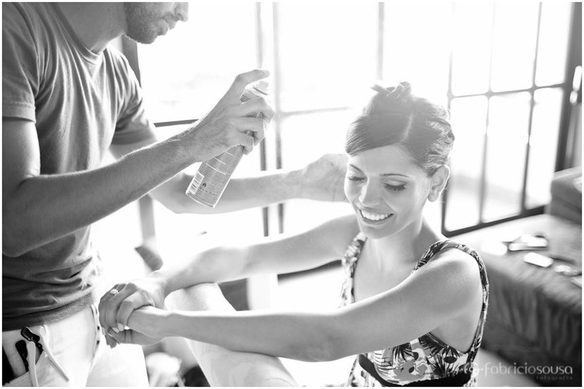 making of da noiva em casa