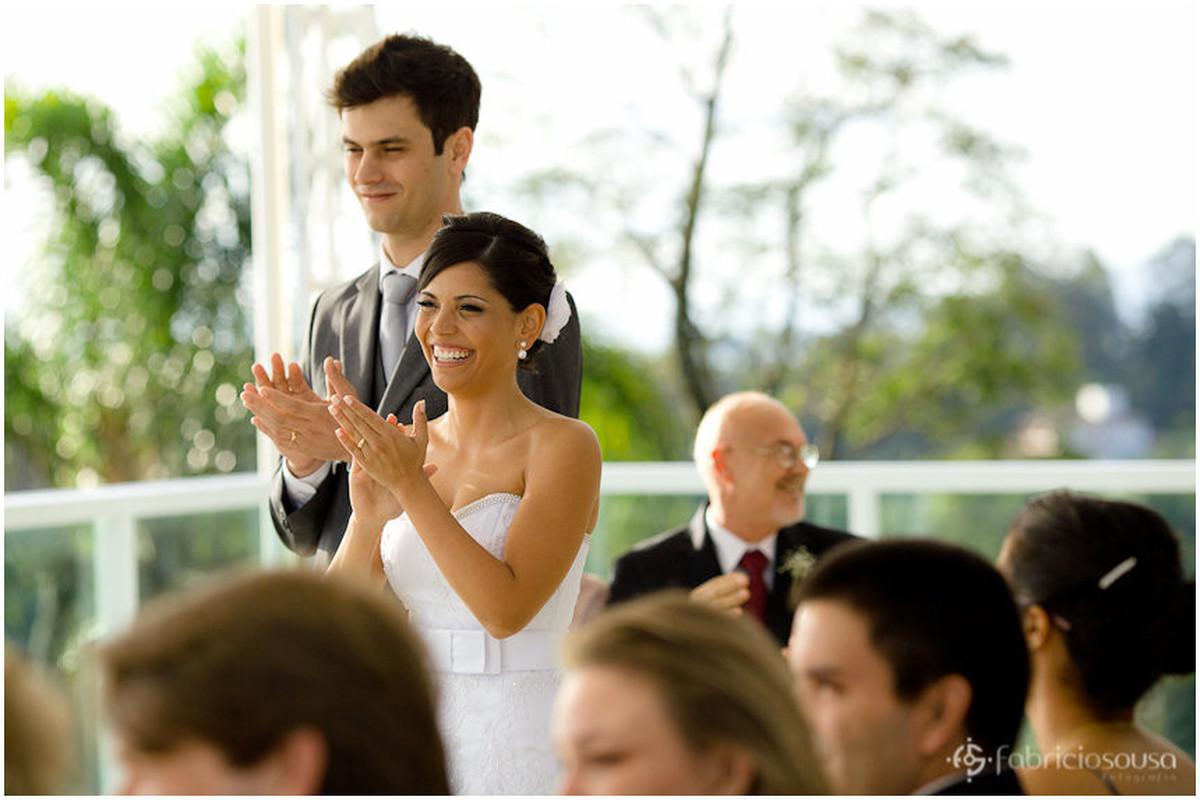 cerimonia de casamento Carol e Thomas