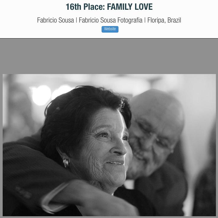 Foto premiada no ISPWP fotografo em Florianópolis - amor de família - pai e avó da noiva