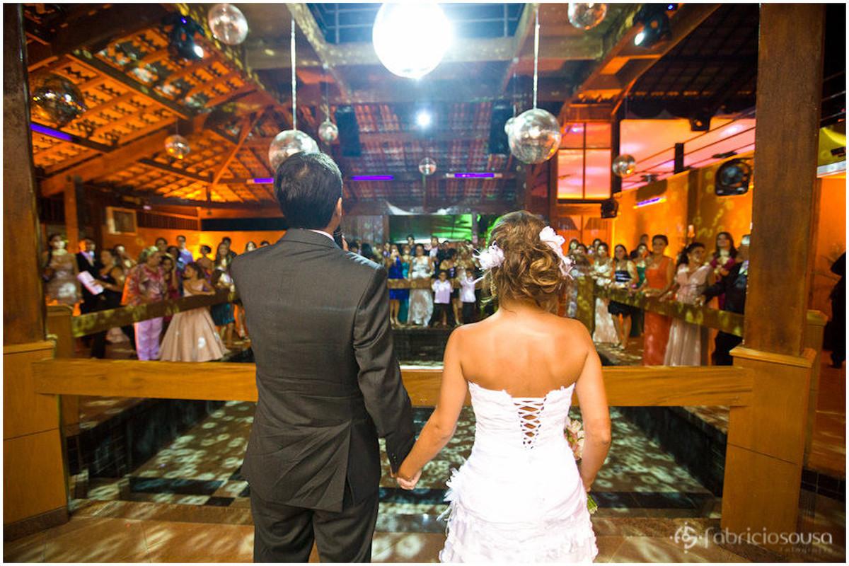 o discurso dos noivos