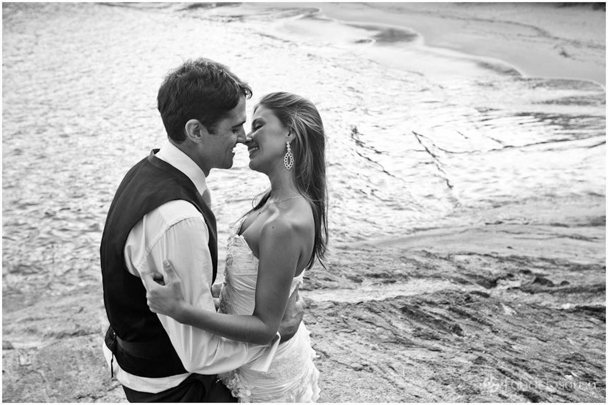 ensaio pos-casamento na praia em Guarapari