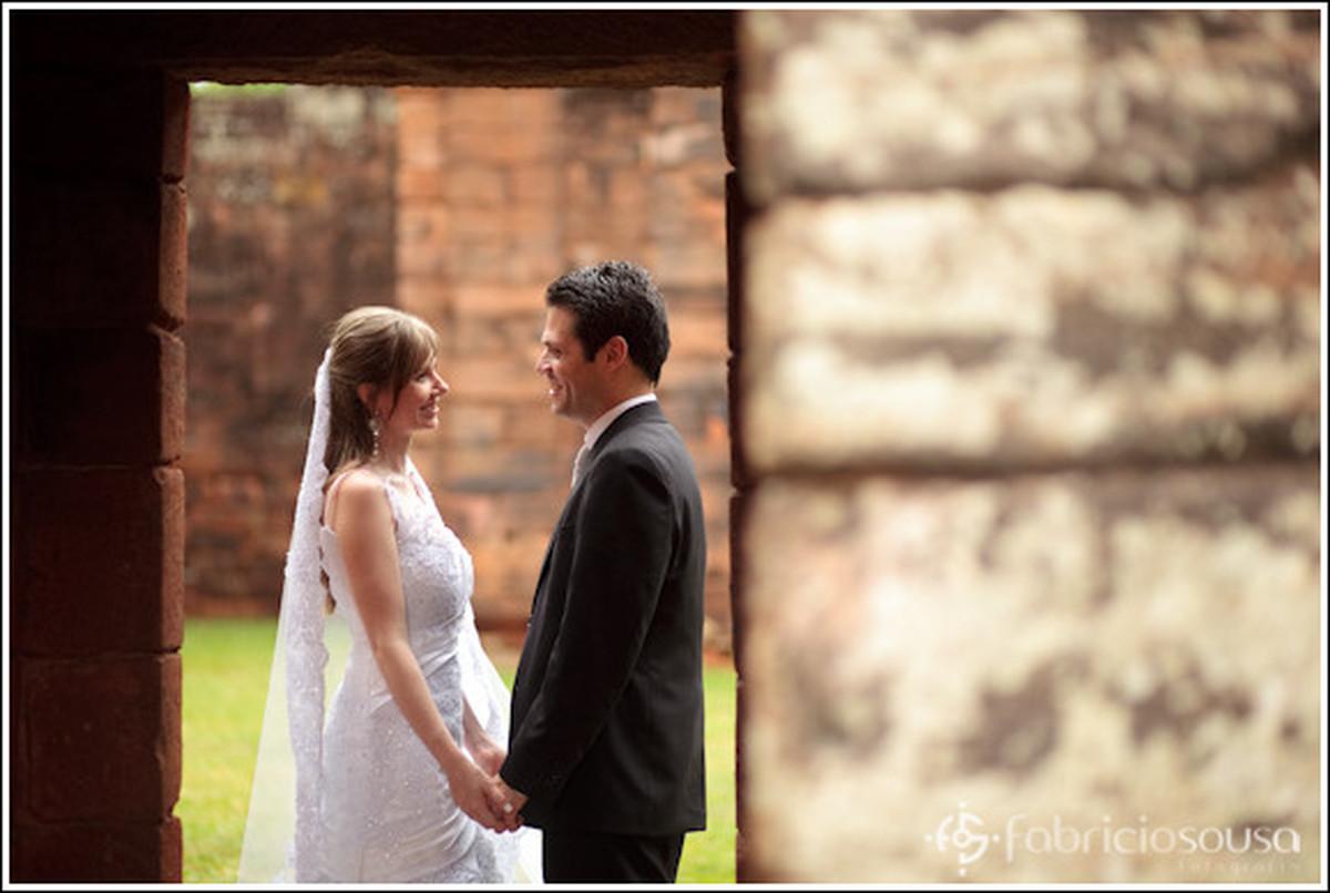 troca de olhares do casal em Ijuí