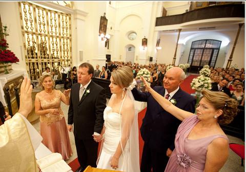 Casamento de casamento Leila e Ricardo