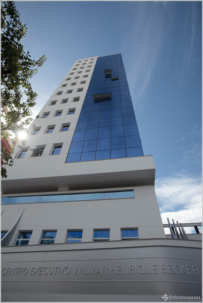 novo prédio sede da Unimed Mercosul