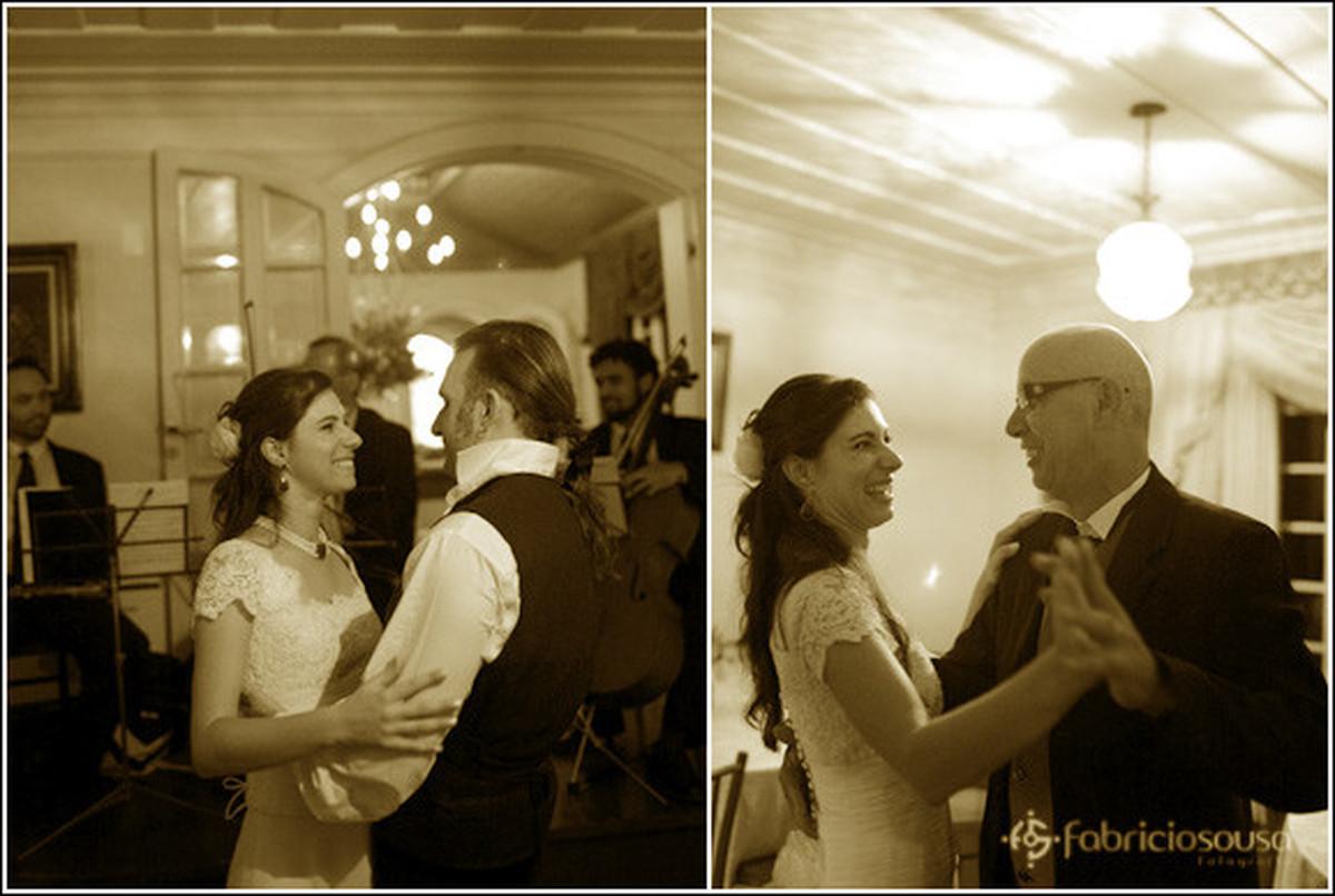 Casais dançando