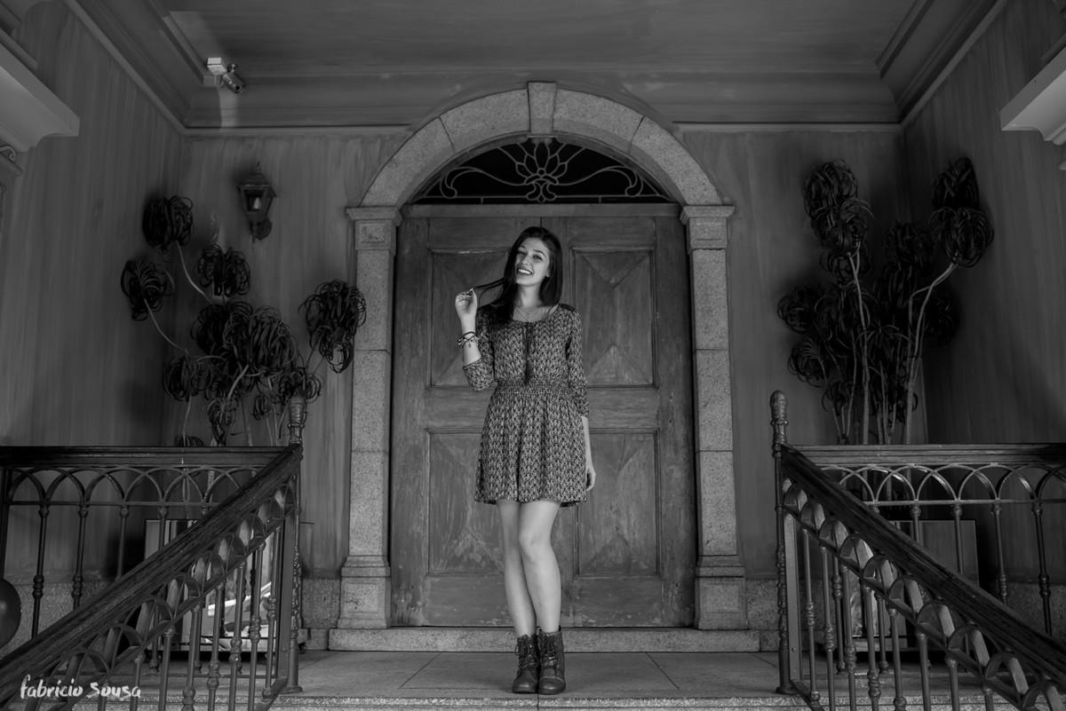 na porta da Alameda Casarosa