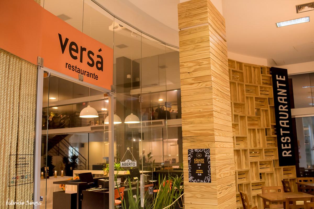 fachada do restaurante Versá