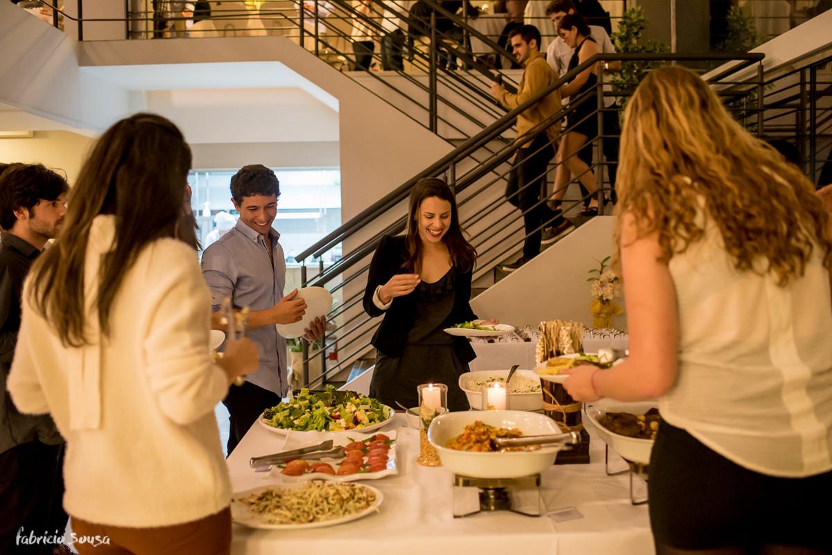 jantar de formatura no restaurante versá gastronomia na Trindade