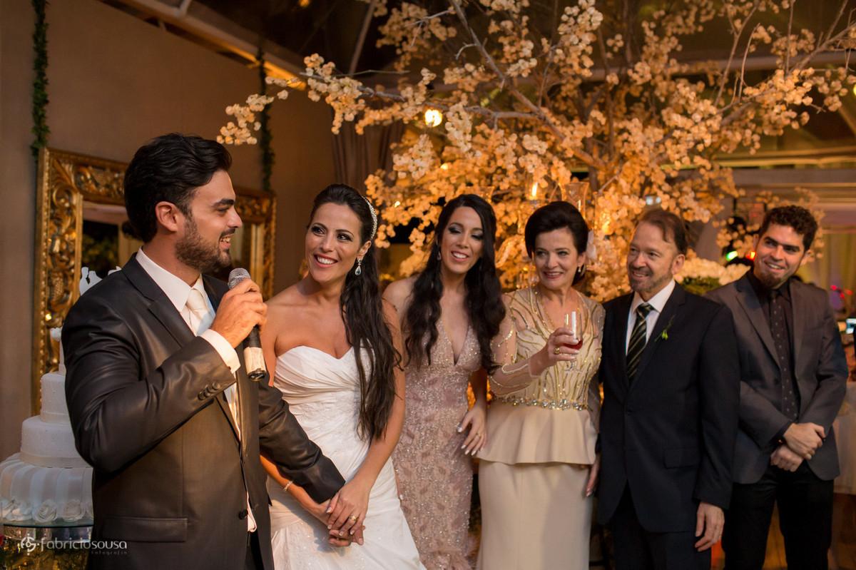 discurso de agradecimento do noivo com sua familia