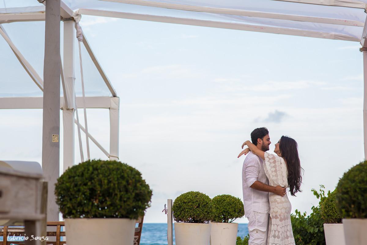 ensaio pre-wedding no Le BarBaron na Praia Brava