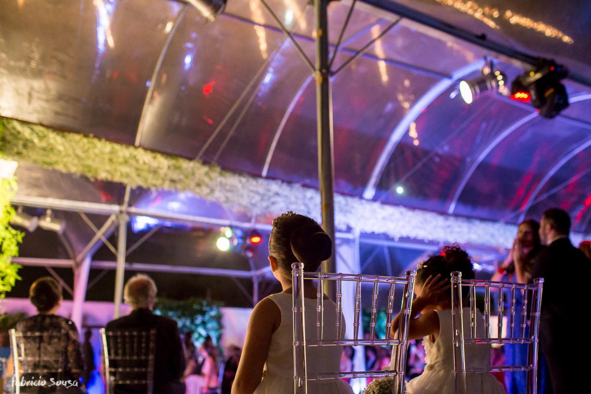 fogos de artifício para fechar a cerimonia no Parador do Estaleiro