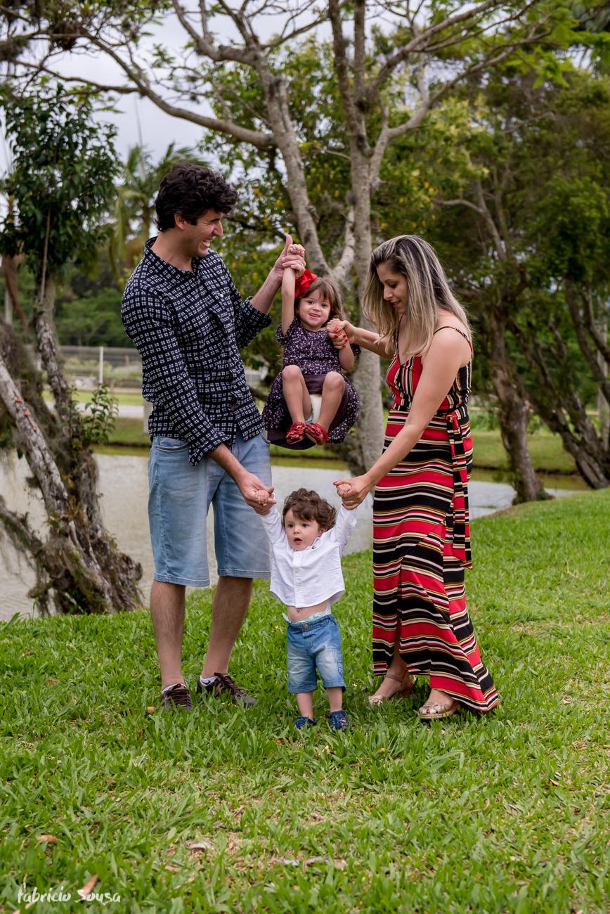 sessão família no Jardim Botânico de Florianópolis