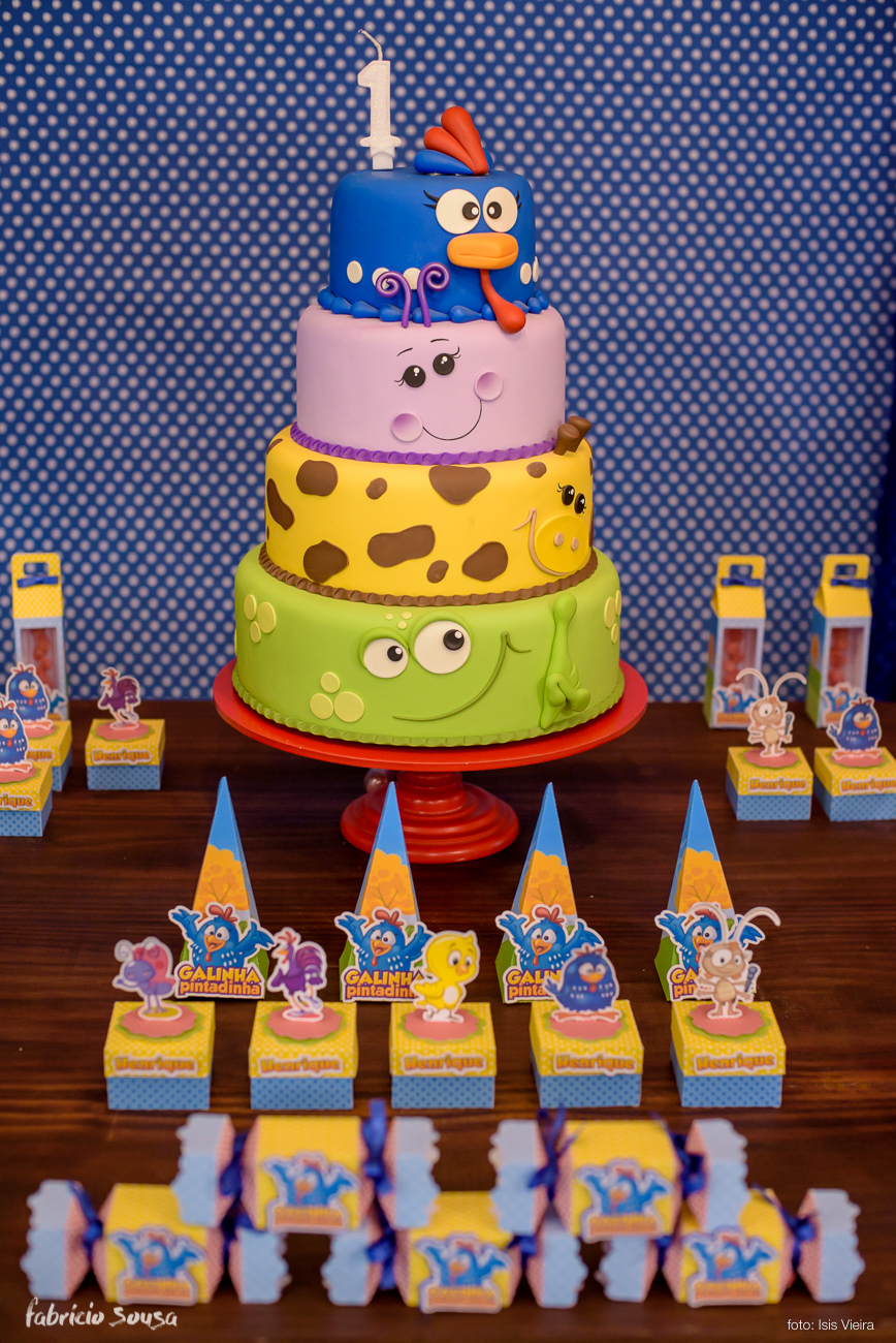 detalhe da decoracao do aniversario infantil