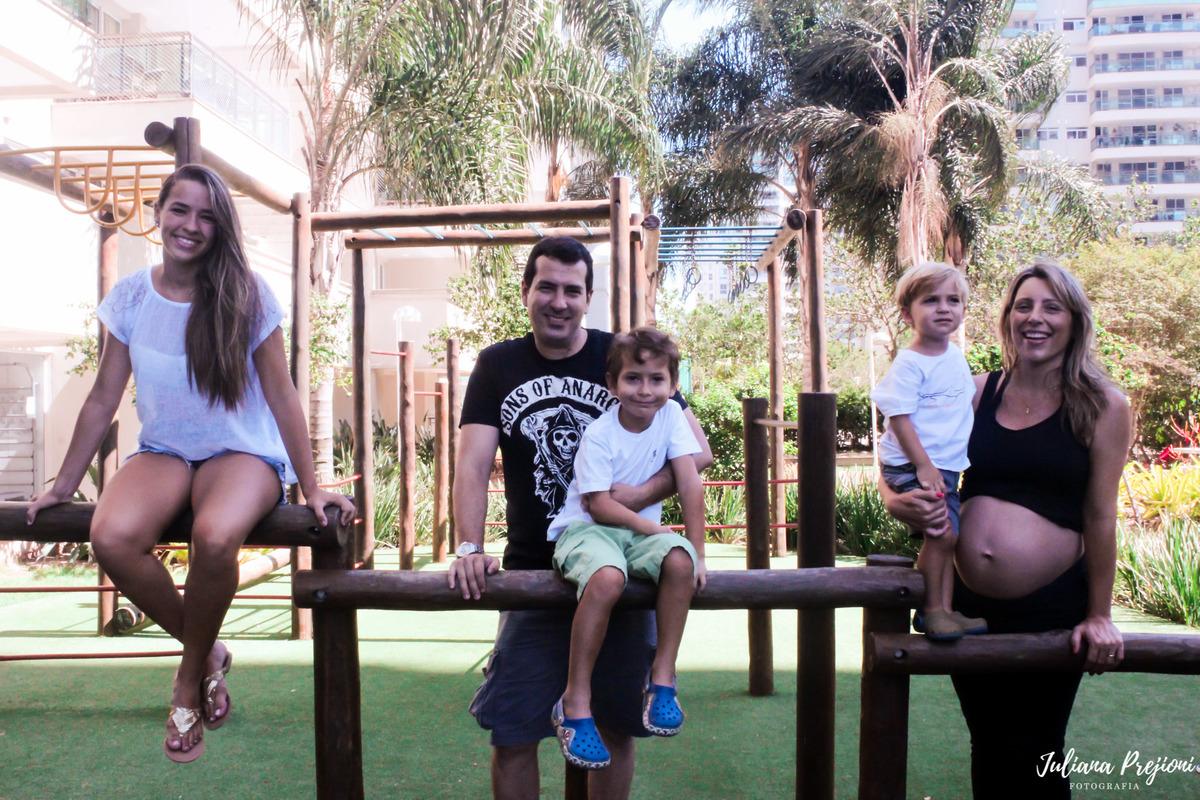 família  sorrindo