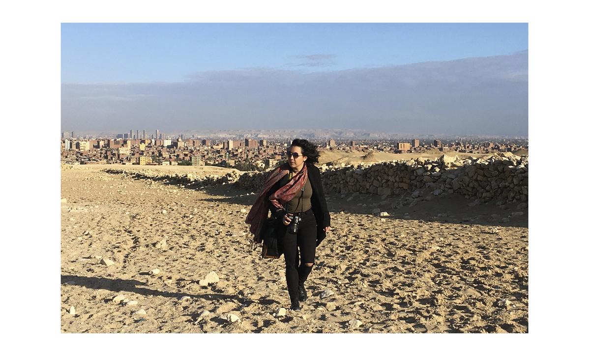 Imagem capa - Vivi no Egito - FUI! por VIVIANE FONTES DE FREITAS